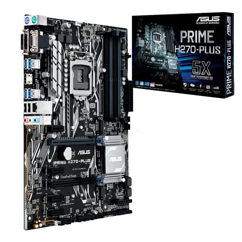 Asus Prime H270-PLUS. Socket 1151.