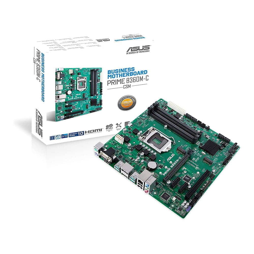 Asus Prime B360M-C/CSM. Socket 1151. Micro-ATX.