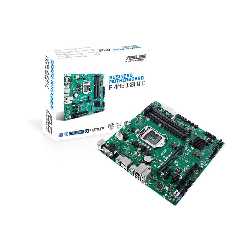Asus Prime B360M-C. Socket 1151. Micro-ATX.
