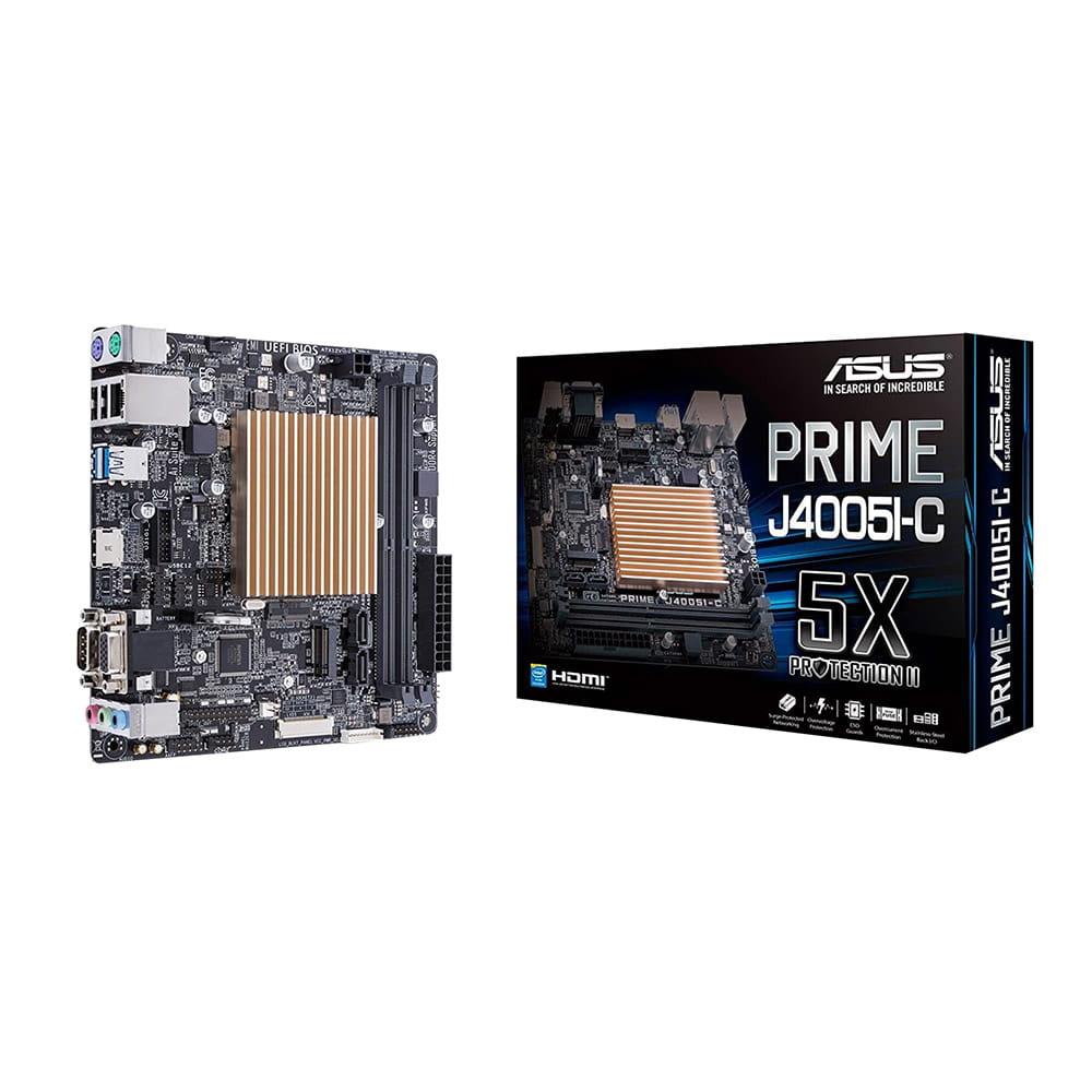 Asus Prime J4005I-C. Procesador Intel J4005. Mini-ITX.