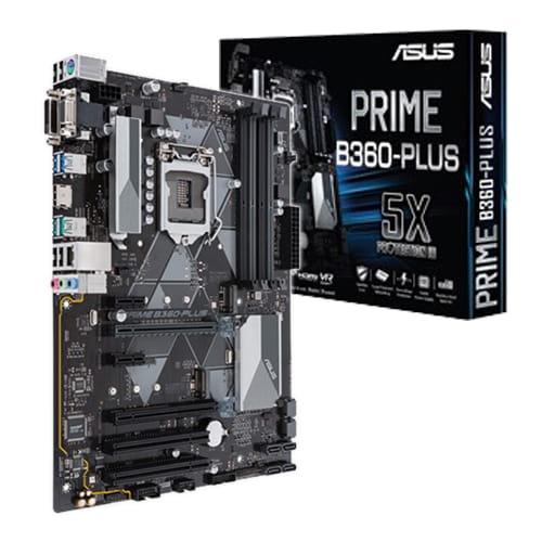 Asus Prime B360-Plus. Socket 1151.