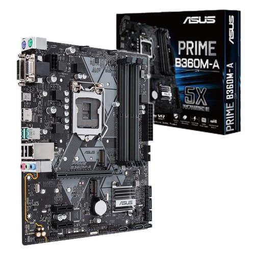 Asus Prime B360M-A. Socket 1151. Micro-ATX.