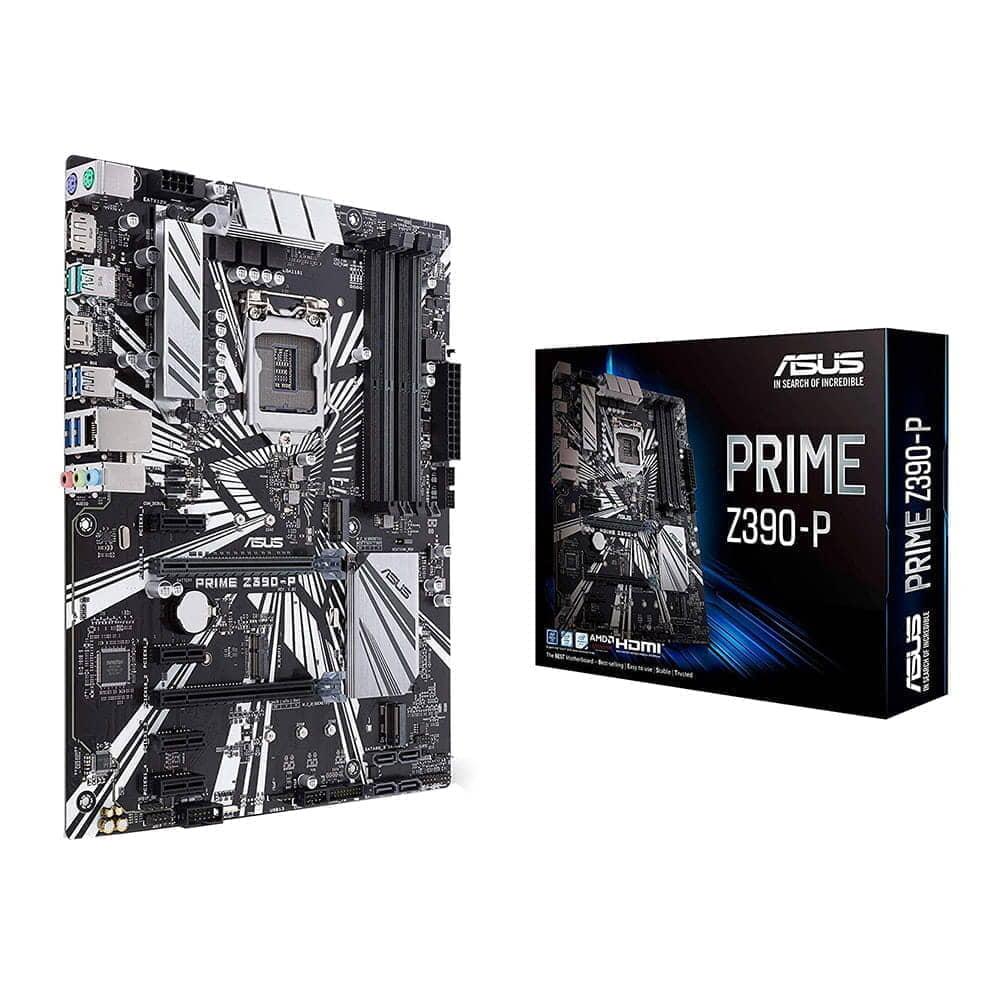 Asus Prime Z390-P. Socket 1151.