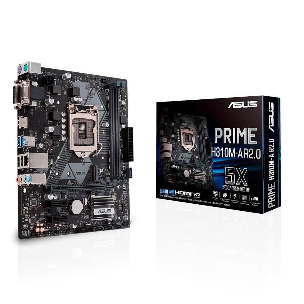 Asus Prime H310M-R R2.0. Soscket 1151. Micro-ATX.
