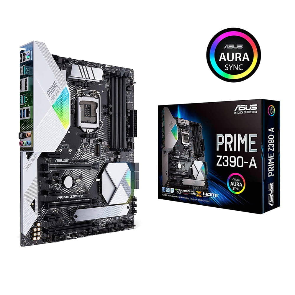 Asus Prime Z390-A. Socket 1151.
