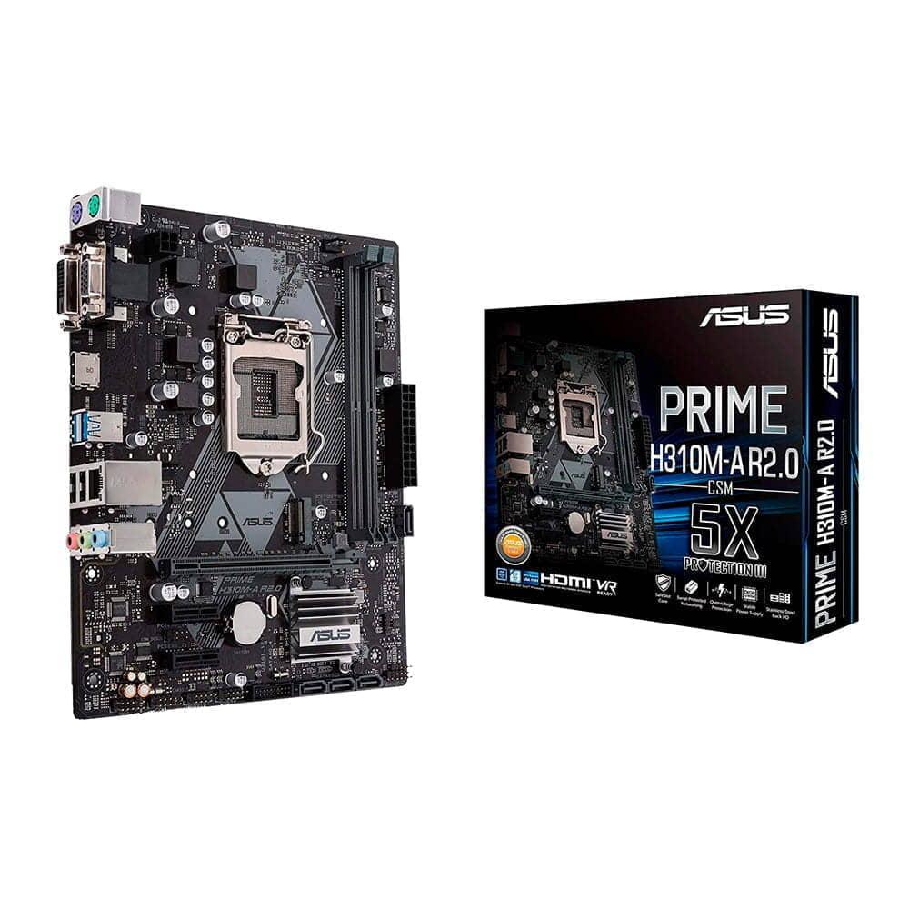 Asus Prime H310M-A R2.0. Socket 1151. Micro-ATX.