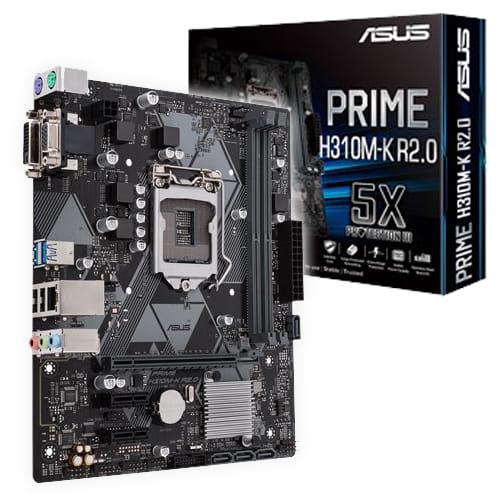 Asus Prime H310M-K R2.0. Socket 1151.