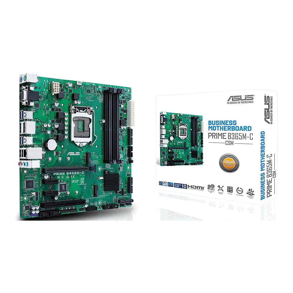 Asus Prime B365M-C/CSM. Socket 1151. Micro-ATX.