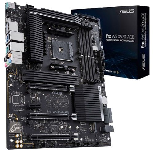 Asus Pro WS X570-ACE. Socket AM4.