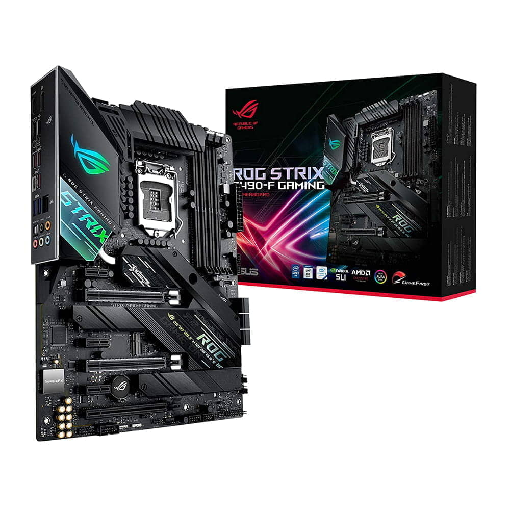 Asus Rog Strix Z490-F Gaming. Socket 1200.