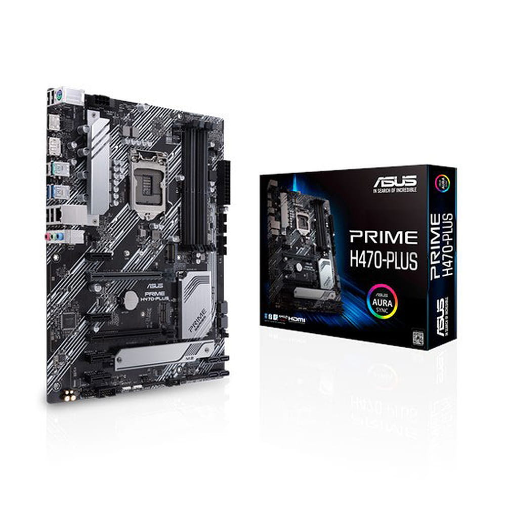 Asus Prime H470-Plus. Socket 1200.