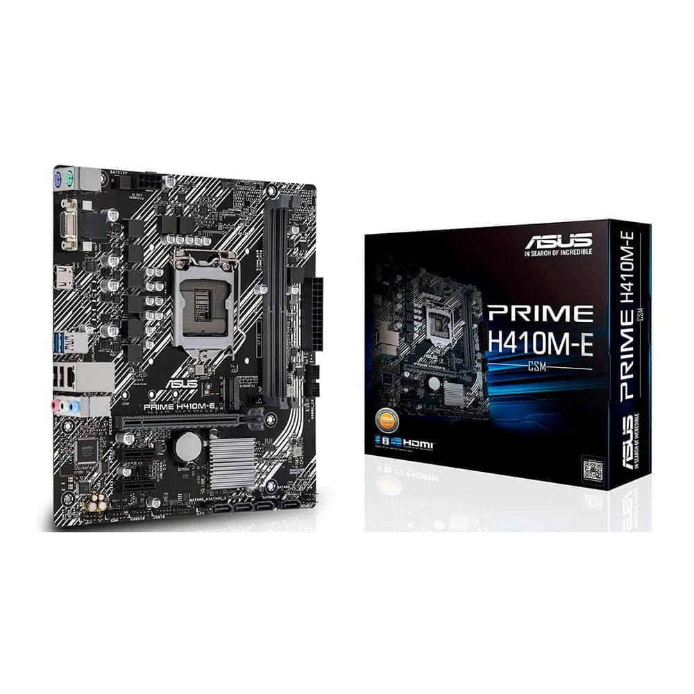 Asus Prime H410M-E. Socket 1200. Micro-ATX.