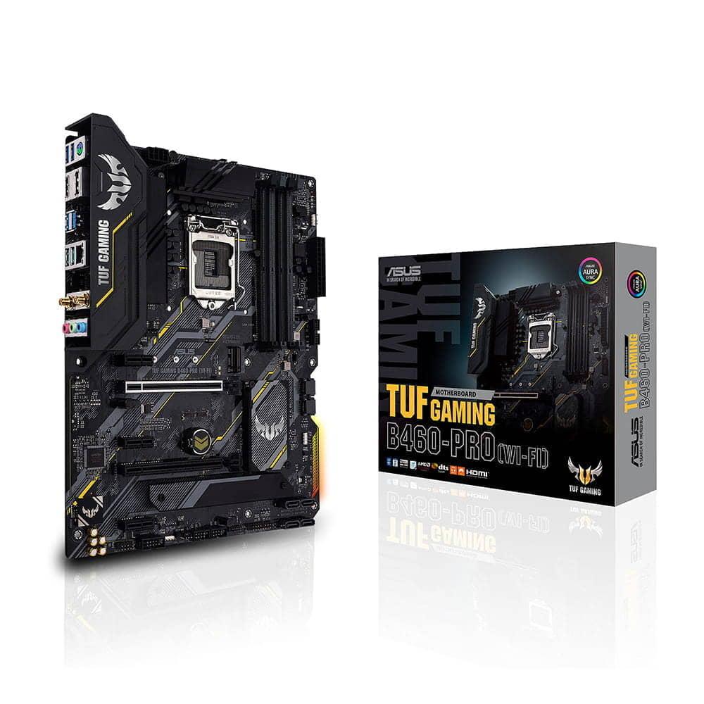Asus TUF Gaming B460-Pro Wi-Fi. Socket 1200.