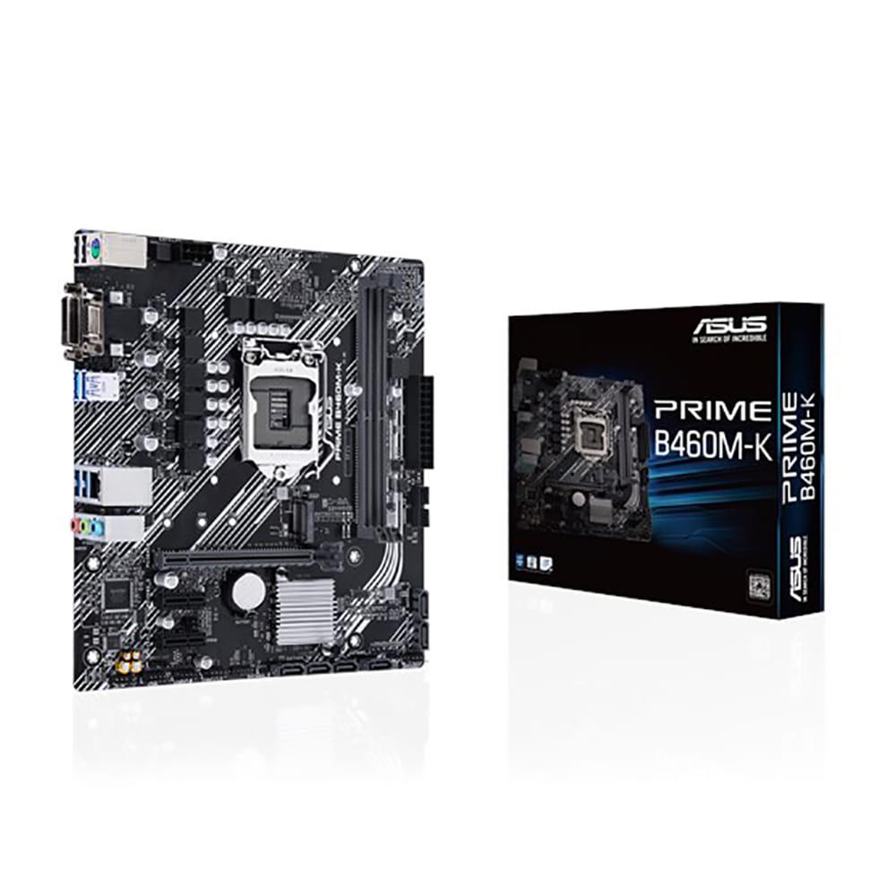 Asus Prime B460M-K. Socket 1200. Micro-ATX.