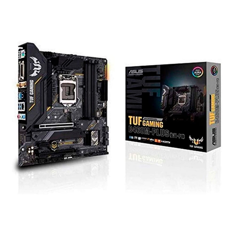 Asus TUF Gaming B460M-Plus (WI-FI). Socket 1200. Micro-ATX.