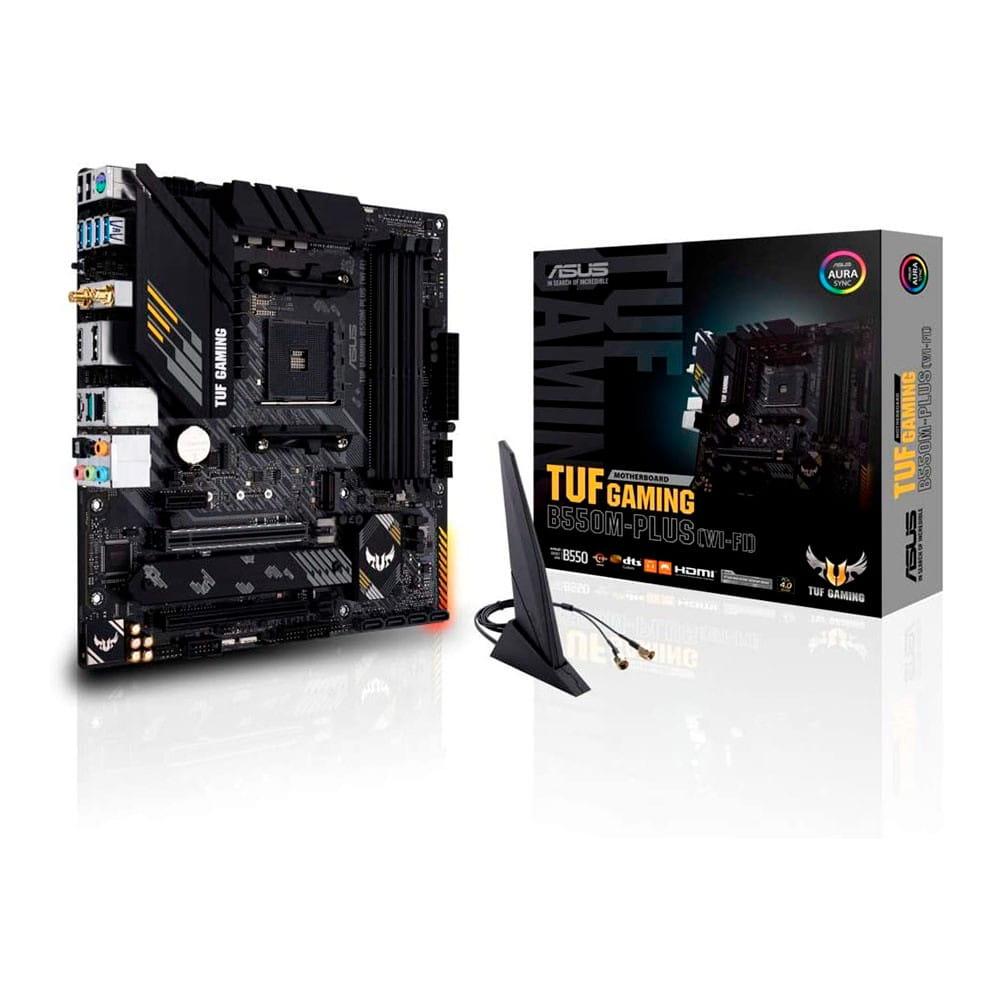 Asus TUF Gaming B550M-Plus WI-FI. Socket AM4. Micro-ATX.