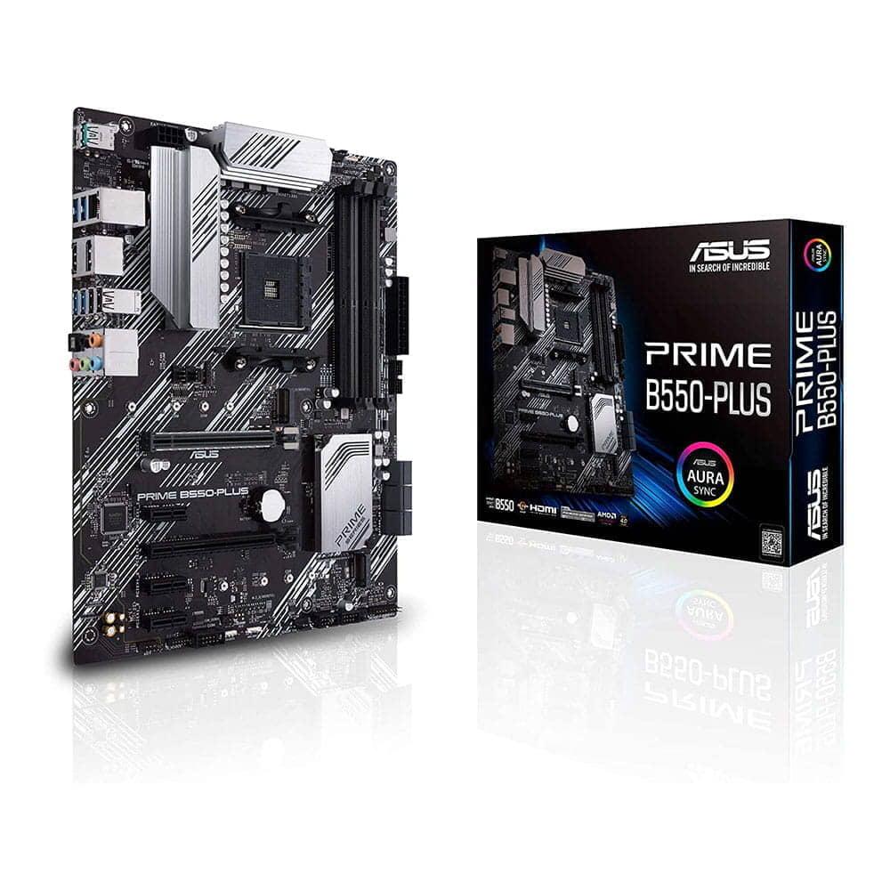 Asus Prime B550-Plus. Socket AM4.