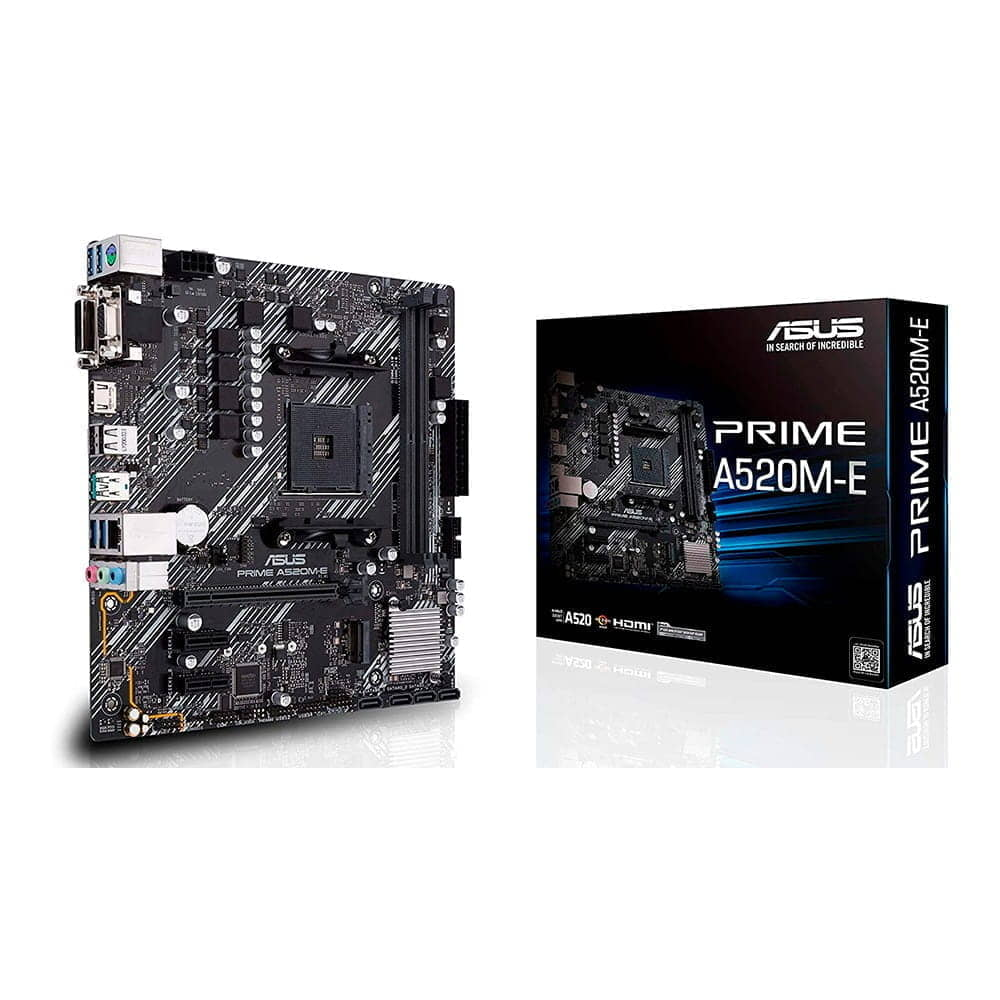 Asus Prime A520M-E. Socket AM4. Micro-ATX.