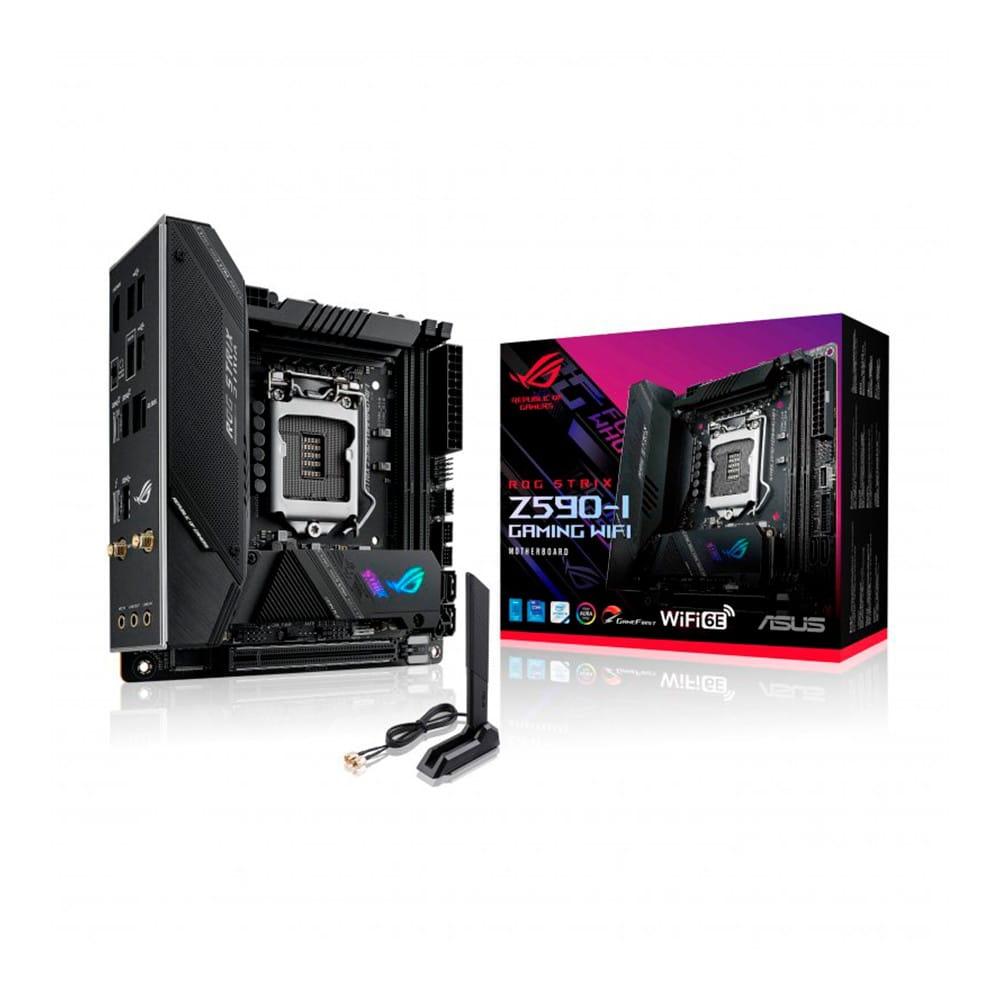 Asus ROG Strix Z590-I Gaming. Socket 1200. Mini-ITX.