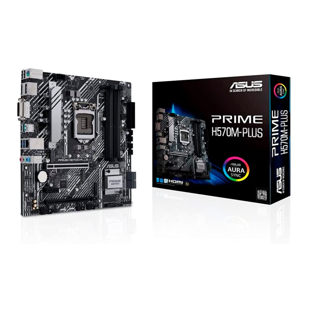 Asus Prime H570M-Plus. Socket 1200. Micro-ATX.