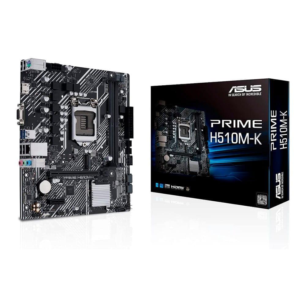 Asus Prime H510M-K. Socket 1200. Micro-ATX.
