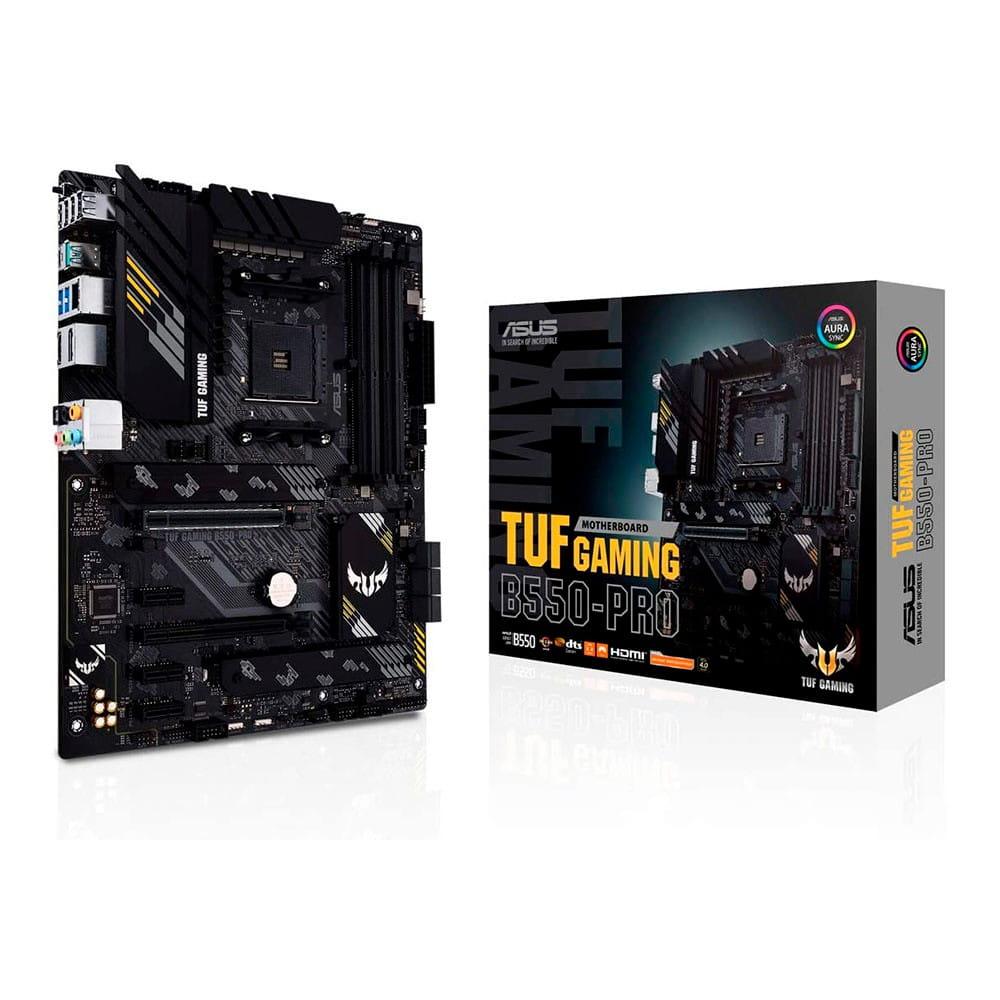Asus TUF Gaming B550-Pro. Socket AM4.