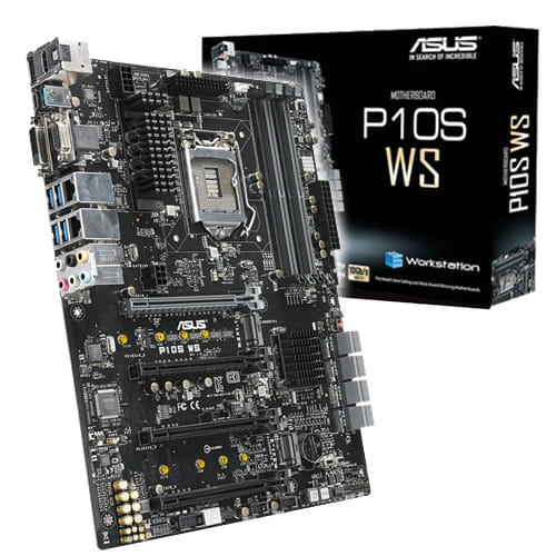 Asus P10S WS. Socket 1151.