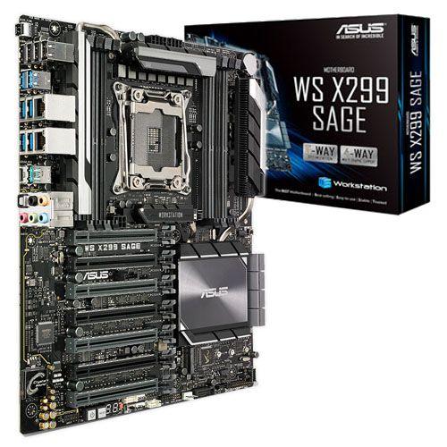 Asus WS X299 SAGE. Socket 2066. SSI CEB