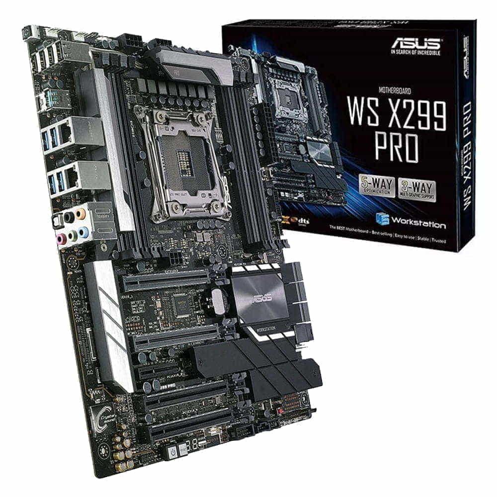 Asus WS X299 Pro. Socket 2066.