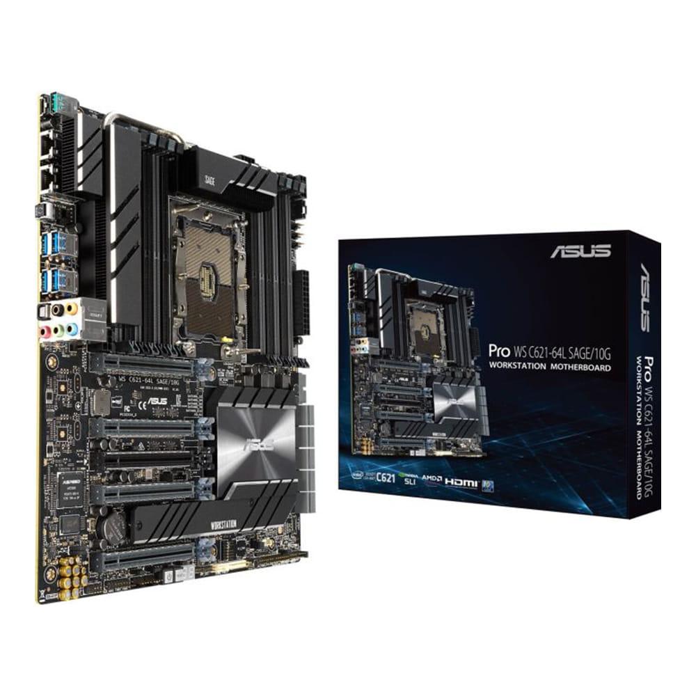Asus Pro WS C621-64L SAGE/10G. Socket 3647. CEB.