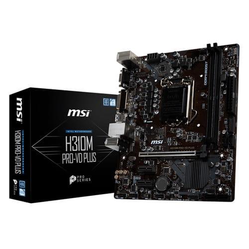 MSI H310M Pro-VD Plus. Socket 1151. Micro-ATX.