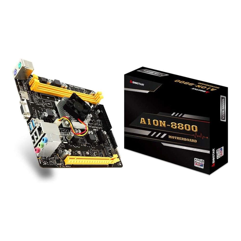 Biostar A10N-8800E. AMD FX-8800P. Mini-ITX.