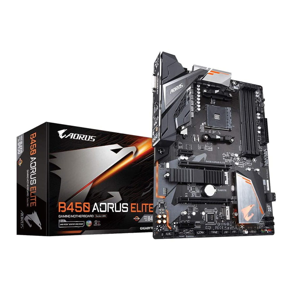 Gigabyte B450 Aorus Elite. Socket AM4.