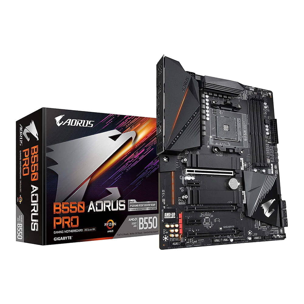 Gigabyte B550 Aorus Pro. Socket AM4.