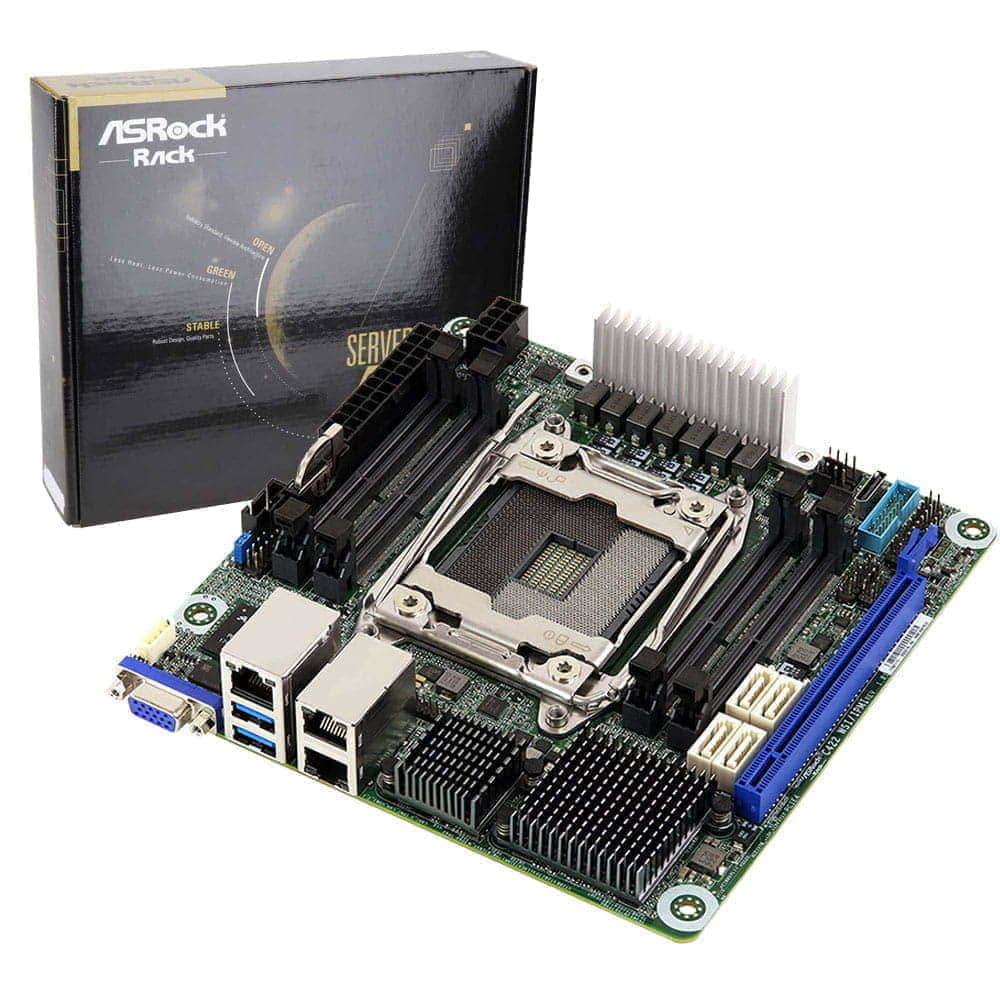 Asrock Rack C422 WSI/IPMI. Socket 2066. Mini-ITX.