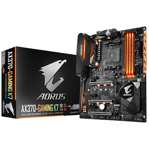 Gibabyte Aorus AX370-Gaming K7. Socket AM4.
