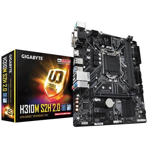 Gigabyte H310M S2H 2.0. Socket 1151. Micro-ATX.