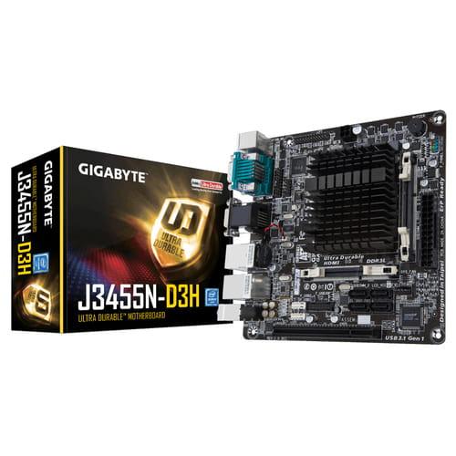 Gigabyte GA-J3455N-D3H. Procesador Intel J3455. Mini-ITX.