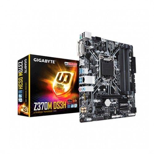 Gigabyte Z370M DS3H. Socket 1151.