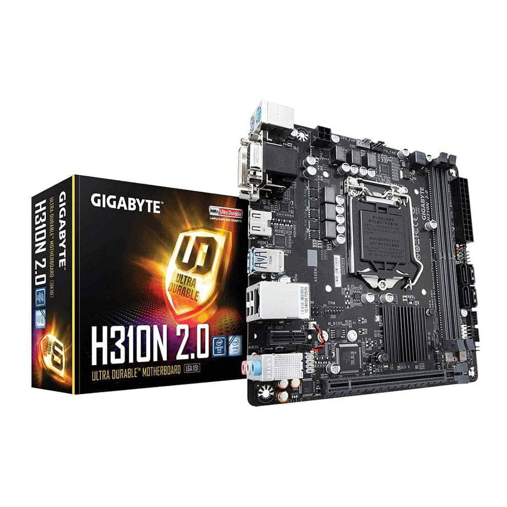 Gigabyte H310N V2. Socket 1151. Mini-ITX.