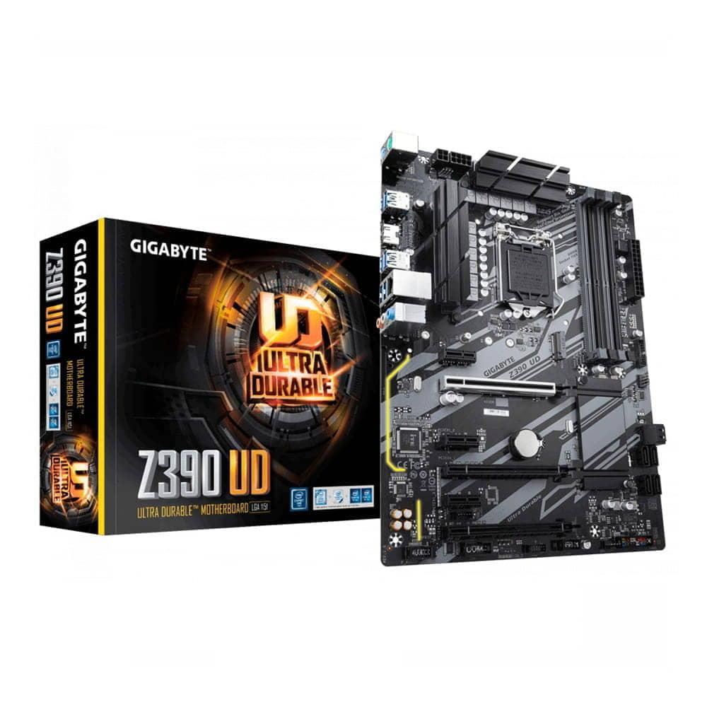 Gigabyte Z390 UD. Socket 1151.