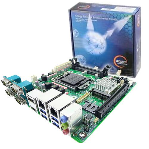 Jetway JNF693-H110 socket 1151. 2 VGAs + 4Com+4USB+2Lan