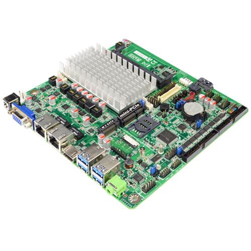 Jetway JNF695HV-3455 Apollo Lake. VGA+HDMI + 10Com+10USB+2Lan  ThinMini-ITX con DCDC