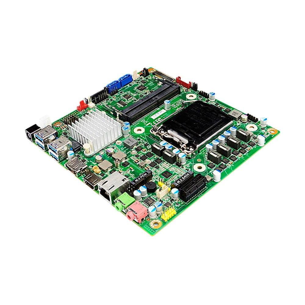 Jetway JNF893-H310 socket 1151 THIN-Mini-ITX con 2 VGA+4 USB y DC-DC