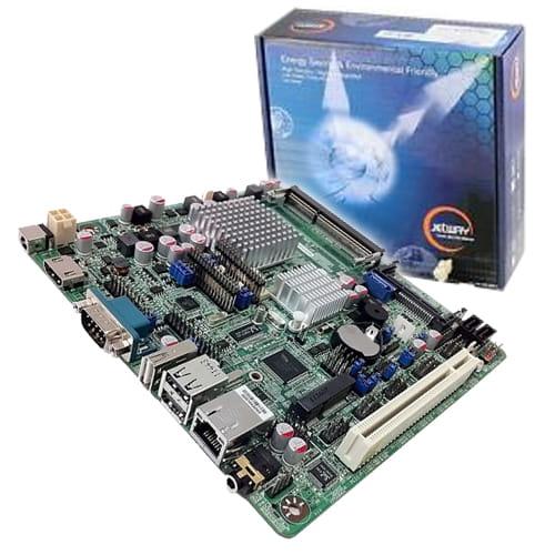 Jetway NF9C Atom D2800 GbLan HDMI ThinMini-ITX