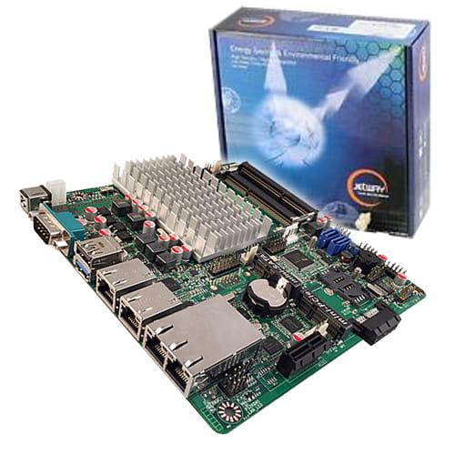 Jetway NF9HG-2930. THIN-Mini-ITX con 4 LAN y DC-DC