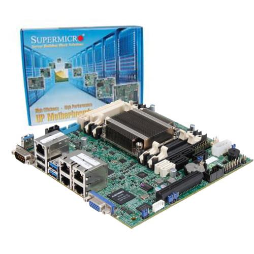 Supermicro A1SRI-2758F. Intel Atom. Mini-ITX.