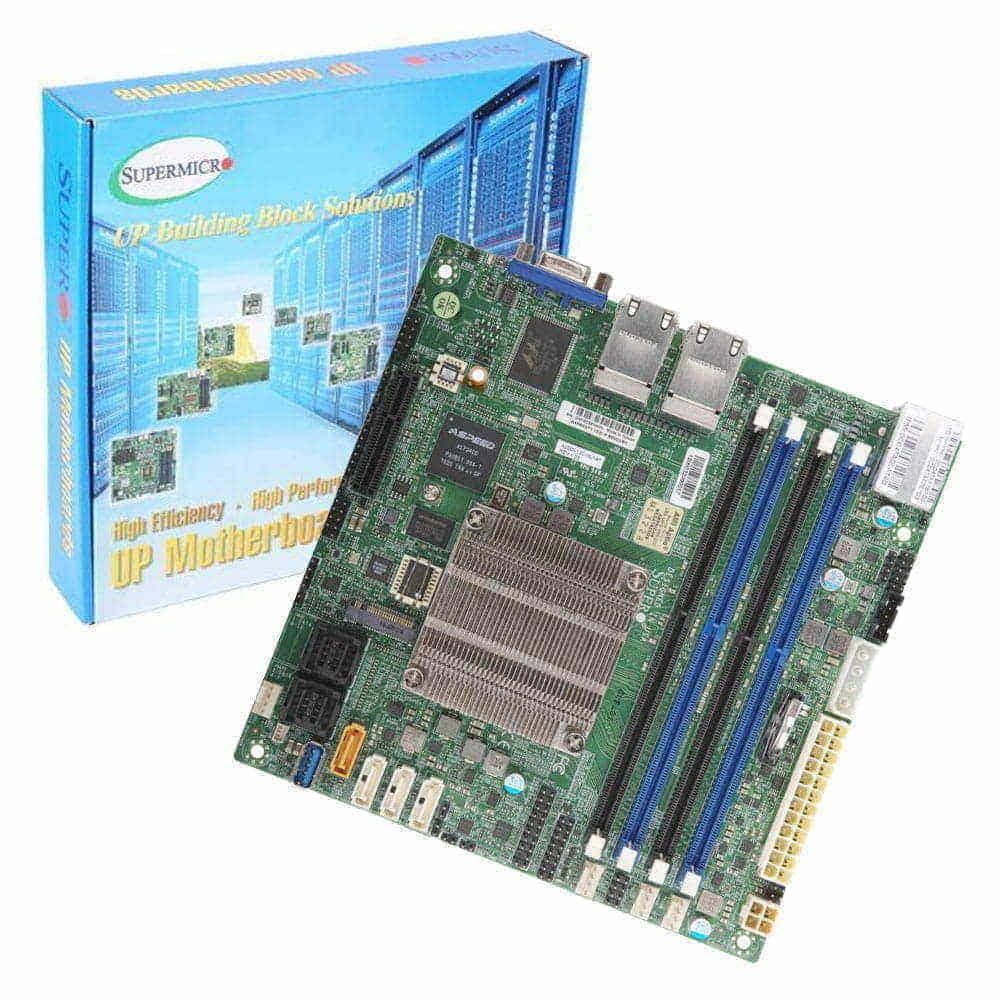Supermicro A2SDI-12C-HLN4F-O. Intel Atom C3858. Mini-ITX.