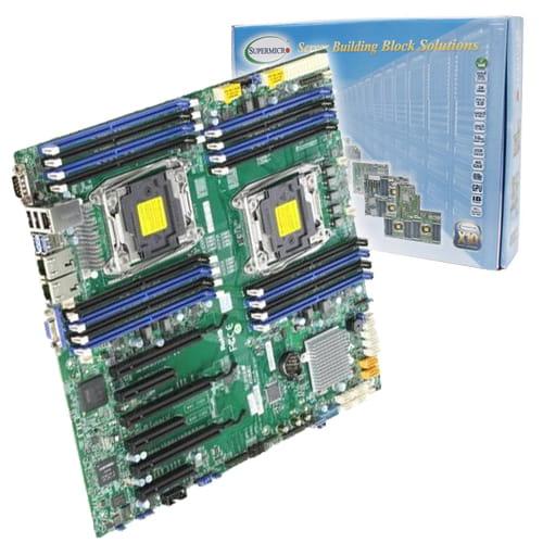 Supermicro X10DRI-O. 2x Socket 2011. E-ATX.