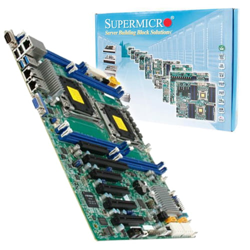 Supermicro X10DRL-I. 2x Socket 2011.